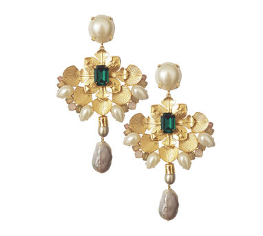 Radhika Agrawal|Nusrat Earrings