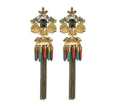 Radhika Agrawal Saira Jhumar Earrings