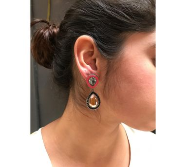 Radhika Agrawal|ROSE GOLD CANDY DROPS