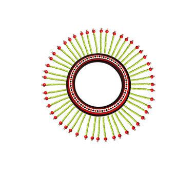 Razia Kunj Theyyam Art Inspired Bead Dropping Bangle