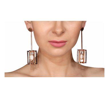 Roma Narsinghani|Stripe Earrings