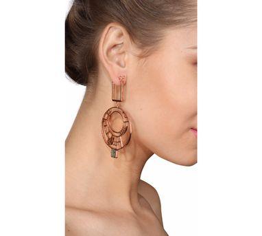 Roma Narsinghani|Crop Circle Earrings LARGE