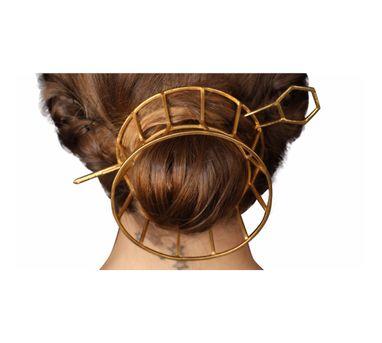 Roma Narsinghani|Cone Hair Bun