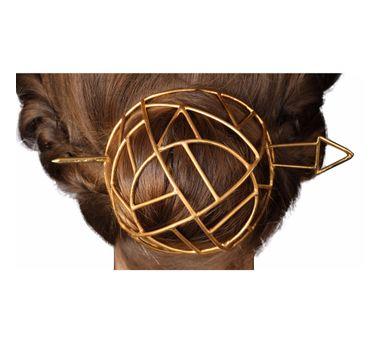 Roma Narsinghani|Grid Hair Bun
