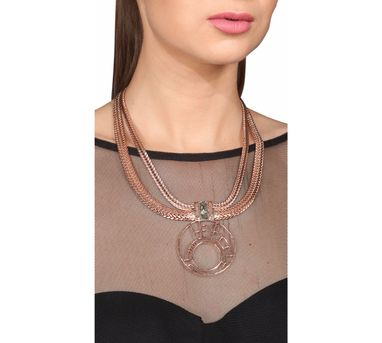 Roma Narsinghani|Crop Circle Necklace