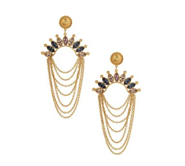 Amrapali|Sunset Edgy Chain Earrings