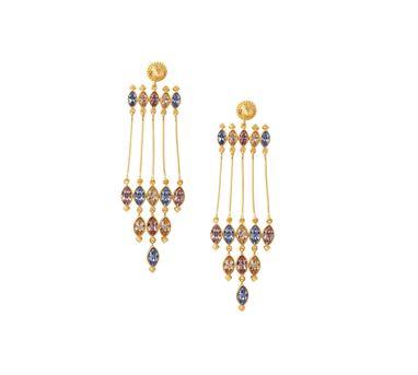 Amrapali Sunset Column Earrings