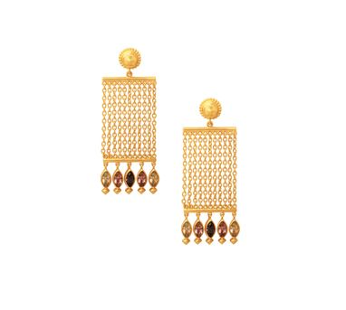 Amrapali|Sunset Chain Drop Earrings