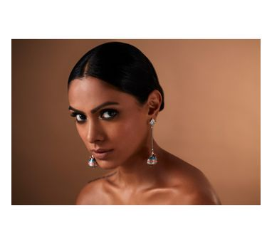 Amrapali| Mughal Garden Drop Dome Earring