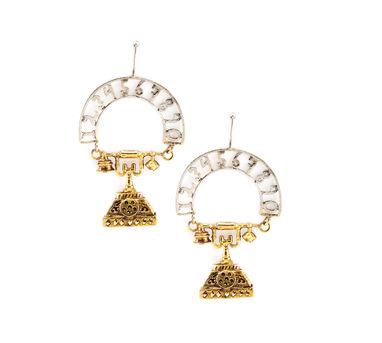 Simran Chhabra   Conversation Starter Earrings
