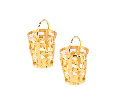 Simran Chhabra   Small Bucket Earrings