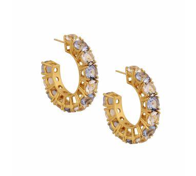 Isharya| Egyptian Goddess Sapphire Earring