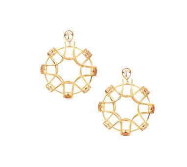 Isharya| Shimmering Gold   Earring