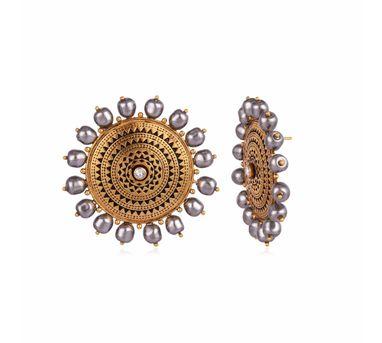 JJ Valaya|Ranas of Kutch Sun Gods Ear Studs