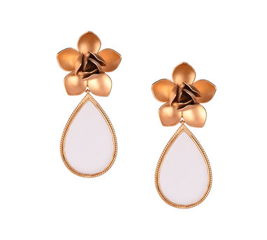 Suhani Pittie | Magnolia And Drop Earring
