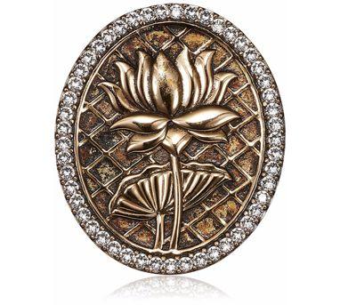 Rohit Bal|Signature Lotus Brooch