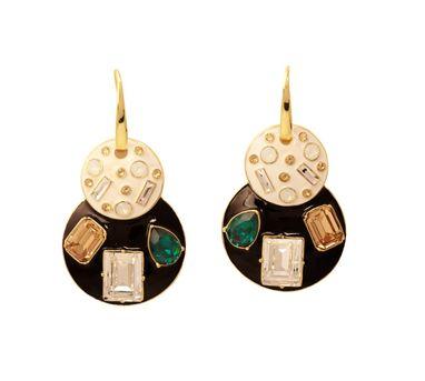 Shivan & Narresh Emerald Jazz Earring