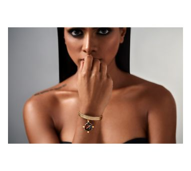 Suhani Pittie|Tribal drop bracelet