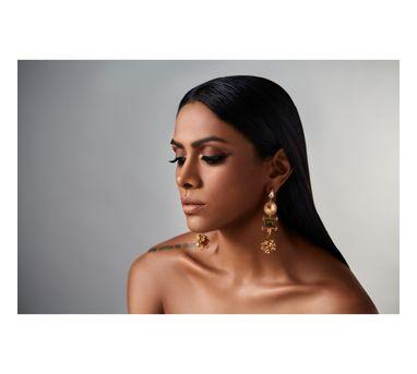 Suhani Pittie Unsung tribe Rustic drop earrings