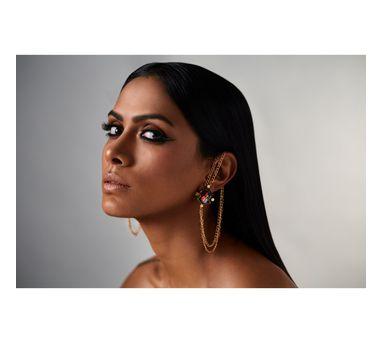 Suhani Pittie Tribal chain earrings