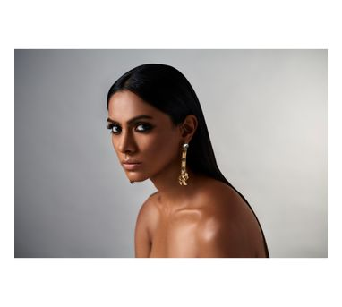 Suhani Pittie|Unsung tribal snake leaf earring