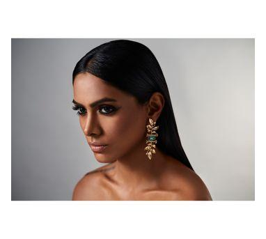 Suhani Pittie Tribe leaf earring