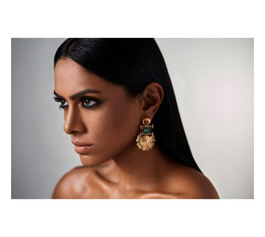 Suhani Pittie Tribe floral earring