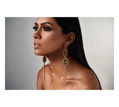 Suhani Pittie|Unsung Tribal tassell earring