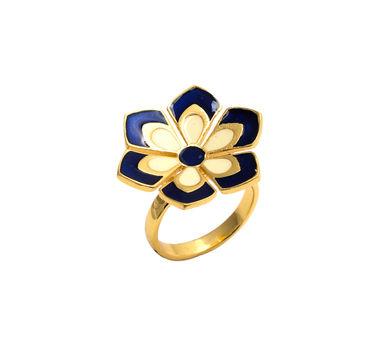 Temaya | Floral Motif Ring-2