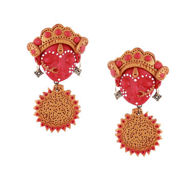 Tripti's Exclusive | Radha Chakra Earrings