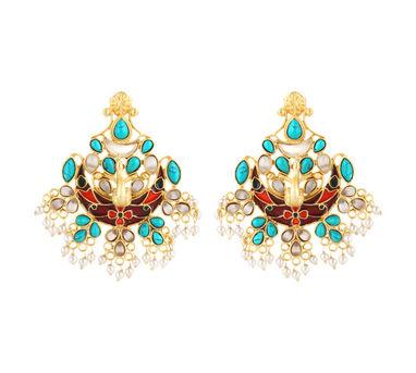 Unniyarcha Mayuri Earrings