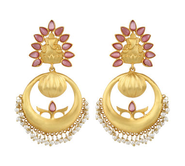 Unniyarcha|Khusa Pink Earrings