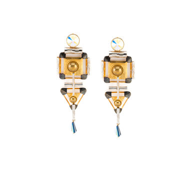 Valliyan | Space Shuttle Earrings