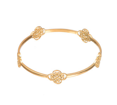 Zariin | Plush Gold Bangle