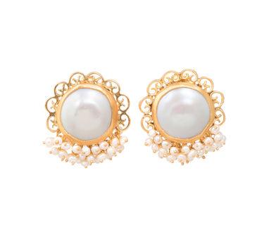 Zariin | Pristine Play Stud Earrings