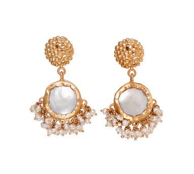 Zariin | Echoing Art Baroque Pearl Earrings