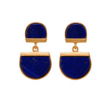 Zariin | Bewitching Sisters Lapis Lazuli Earrings