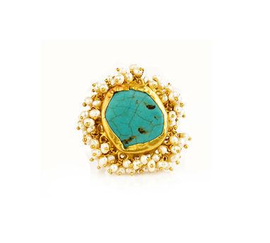 Zariin | Whispering Art Turquoise Ring
