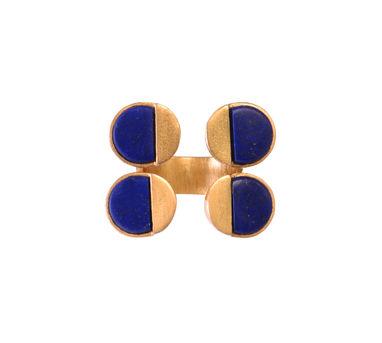 Zariin | Charming Refusal Lapis Lazuli Ring