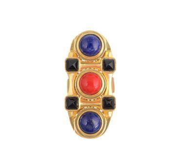 Zariin|Mosaic Craft Cocktail Ring