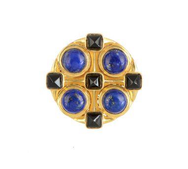 Zariin|Fabia Lapis Lazuli Ring