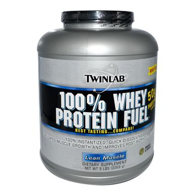 TWINLAB 100% Whey Fuel, 5 lb Cookies & Cream