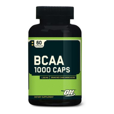 ON (Optimum Nutrition) BCAA, 60 capsules Unflavoured