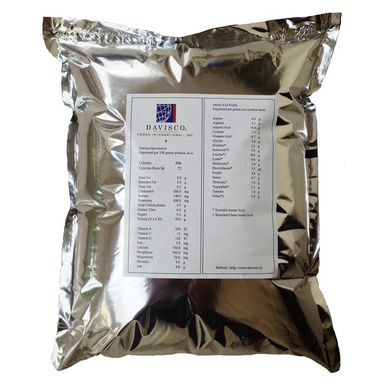2.2 lbs Davisco Raw Whey Protein Concentrate 80%