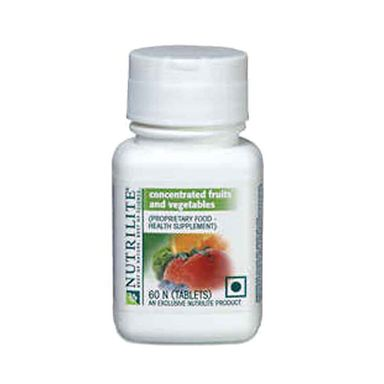 Amway Concentrated Fruits & Vegetables 60 Tabs