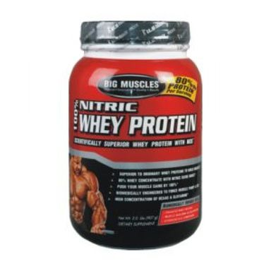 Big Muscles Nitric Whey Protein 2lbs