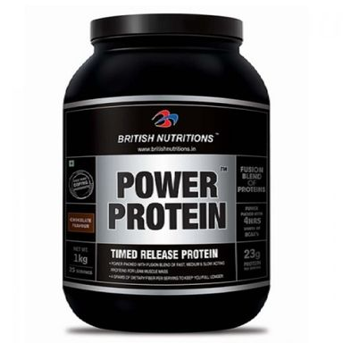 British Nutritions Power Protein 1kg