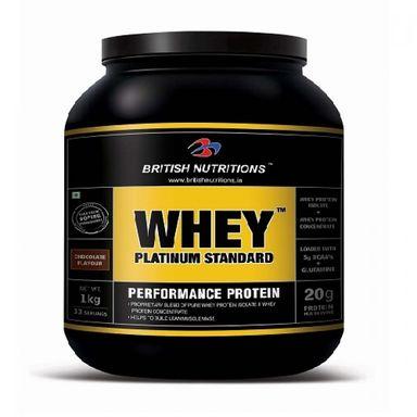 British Nutritions Whey Platinum Standard 1kg