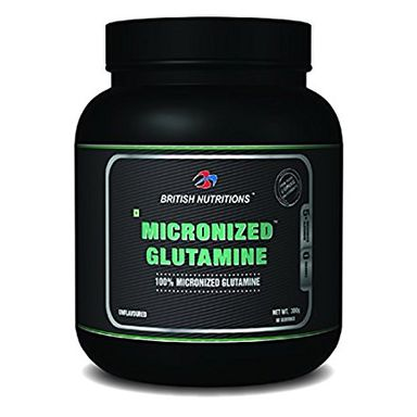 British Nutritions Micronized Glutamine 300gm
