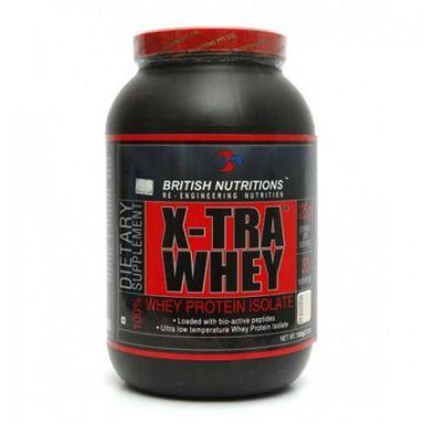British Nutritions X-tra Whey 1kg